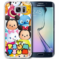 Casing Hp Tsum Tsum Disney Samsung Galaxy S7 Edge Custom Case