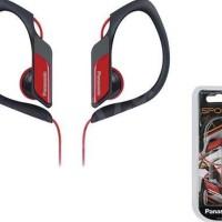 Earphone Headset HP Panasonic RP-HS34E-R Clip-On Super Bass Sport