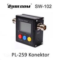Surecom SW-102 SWR Power Meter Type SO239 / PL 259