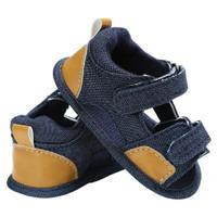 Ready sepatu sandal baby prewalker shoes sepatu bayi lucu Y904 navy