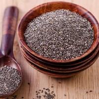 Organic Black Chia Seeds 1000g/1kgr Peru