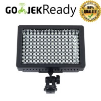 Lightning Kamera 160 LED Lampu Video FILTER Light DSLR MIRORLESS Flash