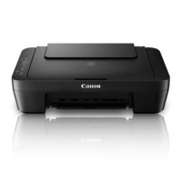Printer Infus Modif Canon E410 Pixma Affordable AIO + BOX Hitam Rapih