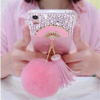 Softcase TPU Fan Diamond Bling Cover Case Casing HP Samsung S8/S8 Plus