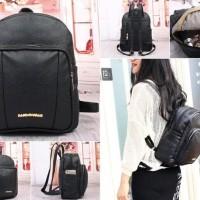 Harga baru tas backpack ransel dark camel coklat woody wanita hush | WIKIPRICE INDONESIA