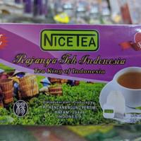 NiceTea Nice Tea Teh Celup Indonesia.Halal sertifikasi MUI. Sariwangi