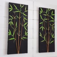 Harga new lukisan premium bambu 3d pring 1 hiasan | antitipu.com