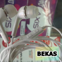 Headset Samsung A3 A5 A7 A8 A9 Original Bawaan Hp. 100% ORi (Second)