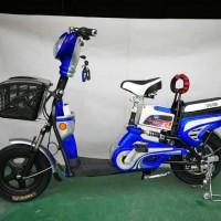 Harga sepeda listrik earth gold ban tubeless super | Pembandingharga.com