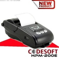 Mini Printer Bluetooth codesoft HP M200E thermal 58 sup DISKON