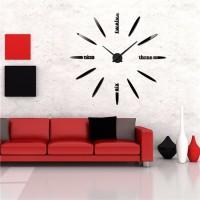 Jam dinding Raksasa DIY 80-130cm Diameter - ELET00661 81be000f6c