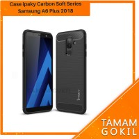 Case Samsung A6+ A6 Plus 2018 Ipaky Carbon Soft Series
