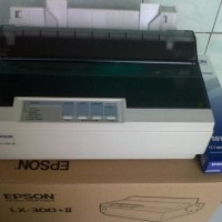 Printer Dot Matrix Epson LX 300+II, Rini Globalindo Comp Sby
