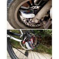 Gembok Diskbrake Alarm . Cocok untuk Sepeda & Motor berDiskbrake