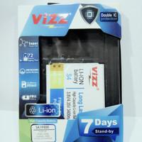 batt batre baterai battery double power vizz samsung s4 i9500