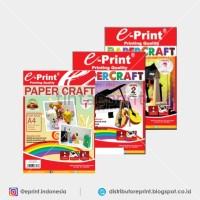 Kertas Craft Papercraft Level 1 - 3