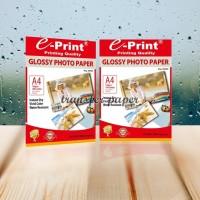 Kertas Foto Glossy Photo Paper Glossy A4 Eprint 120gsm