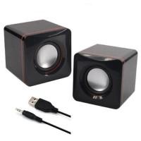 Speaker Aktif USB Multimedia Kotak AP-101 - Bisa Buat Komputer/Desktop