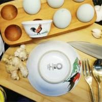 Mangkok Kecil Cap Ayam Jago / Mangkuk mie mini jadul wadah sambel unik