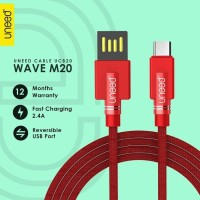UNEED Wave M20 Kabel Data Micro USB Fast Charging 2.4A - UCB20M