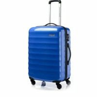 Tas Koper american tourister paralite 24inc black blue