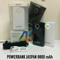 Powerbank Power Bank Pb Jaspan 8800mAh 8.800mAh Real Capacity