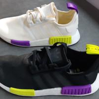 be72d011b Adidas NMD R1 Black White MultiColor NEW! 100% ORIGINAL