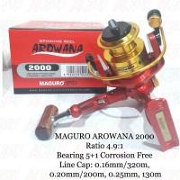 Reel Pancing Spinning MAGURO AROWANA 2000