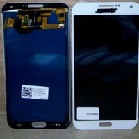 Lcd Samsung Galaxi E7 E700H Fullset Contrass Original