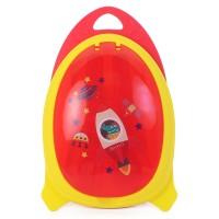 BABY BEYOND Easy Go Space Mealbox-MERAH-BB1005