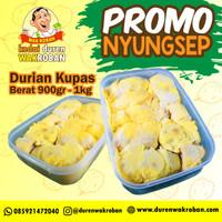Durian Kupas ,Duren Kupas Promo Nyungsep