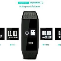 Smartwatch f1 smartband waterproof anti air blood press Murah