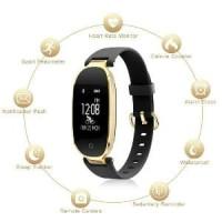 Smartwatch lemfo s3 smartband heart rate ip68 anti air Murah