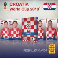 Kartu Bola Fezballer Cards edisi team CROATIA World Cup 2018
