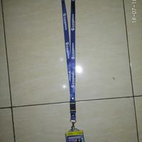 Tali id card logo Transjakarta & Cover 2 sisi