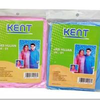 Kent Jas Hujan Plastik (Jas Hujan Pe Ponco) - isi 2 Pcs