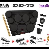 Yamaha Drum Pad Elektrik Digital Dd-75 / Dd75 / Dd 75