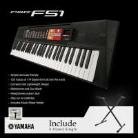Keyboard Yamaha Psr F51 With Xstand Single / Psrf51 / Psr-F51