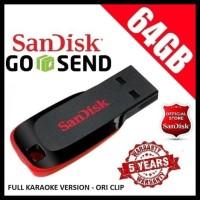 Flashdisk Sandisk 64Gb 1200 Lagu Karaoke Klip Asli Aplikasi Karaoke