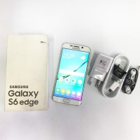 Samsung Galaxy S6 EDGE, 64gb, Second, Fullset, Mulus