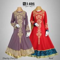 Gamis Dress Baju Jodha Akbar Ceruty Fs1486 Murah Muslim AGB2092