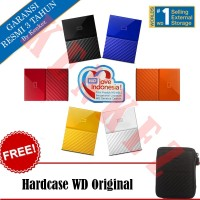 "WD My Passport New Design 2TB/2.5""/USB3.0 + Free Hardcase"