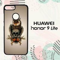 Casing Huawei Honor 9 Lite Custom HP Owl Skull LI0243