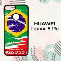 Casing Huawei Honor 9 Lite Custom HP Fifa World Cup Brazil Flag L2568