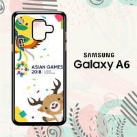 Casing Samsung Galaxy A6 2018 Custom HP Asian Games 2018 L2625