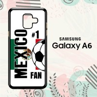 Casing Samsung Galaxy A6 2018 Custom HP Mexico 2018 Soccer Games L2584