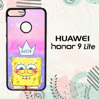 Casing Huawei Honor 9 Lite Custom HP Cute Spongebob LI0217