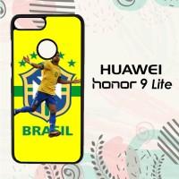 Casing Huawei Honor 9 Lite Custom HP Neymar Brazil L2617