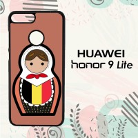 Casing Huawei Honor 9 Lite Custom HP Belgium Matroska L2557