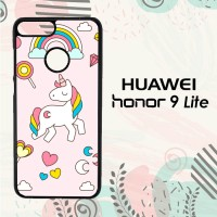 Casing Huawei Honor 9 Lite Custom HP Unicorn Lollipop LI0158